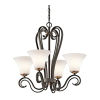 Kichler Lighting Claridge Court 4 Light Chandelier in Olde Bronze 42985OZ