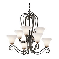 Kichler Lighting Claridge Court 8 Light Chandelier in Olde Bronze 42986OZ