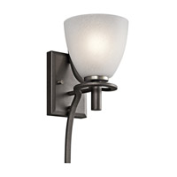 Kichler Lighting Neillo 1 Light Wall Sconce in Anvil Iron 43030AVI