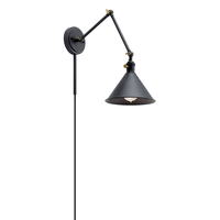 Kichler 43115BK Ellerbeck 1 Light 8 inch Black Wall Sconce Wall Light