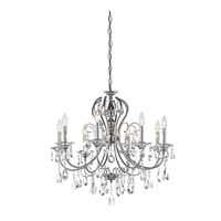 Kichler Lighting Jules 8 Light Chandelier in Chrome 43122CH photo thumbnail