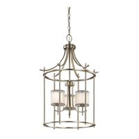 Kichler 43139AP Tallie 3 Light 20 inch Antique Pewter Chandelier Ceiling Light
