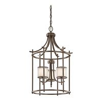 Kichler 43139MIZ Tallie 3 Light 20 inch Mission Bronze Chandelier Ceiling Light