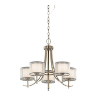 Tallie 5 Light 24 inch Antique Pewter Chandelier Ceiling Light