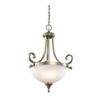 Kichler 43163SGD Monroe 2 Light 18 inch Sterling Gold Pendant Ceiling Light