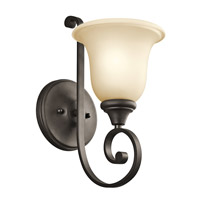 Kichler 43170OZL16 Monroe LED 6 inch Olde Bronze Wall Sconce Wall Light