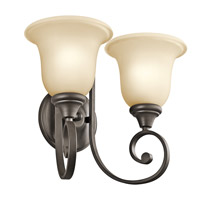 Kichler Lighting Builder Monroe 2 Light Wall Sconce in Olde Bronze 43171OZ photo thumbnail