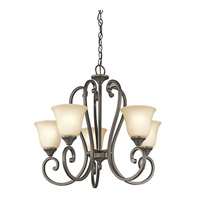 Kichler Lighting Builder Feville 5 Light Chandelier in Olde Bronze 43175OZ photo thumbnail