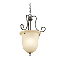 Kichler 43181OZ Feville 1 Light 21 inch Olde Bronze Foyer Chain Hung Ceiling Light photo thumbnail