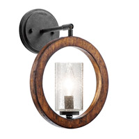 Kichler Lighting Grand Bank 1 Light Pendalette in Auburn Stained Finish 43189AUB alternative photo thumbnail