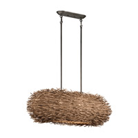 Kichler Lighting Twigs 2 Light Pendant in Olde Bronze 43204OZ