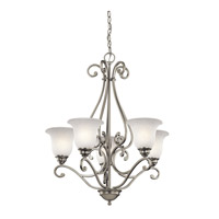Kichler 43224NI Camerena 5 Light 27 inch Brushed Nickel Chandelier Ceiling Light