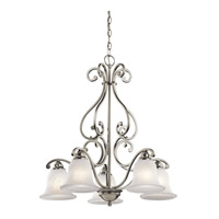 Kichler 43225NI Camerena 5 Light 27 inch Brushed Nickel Chandelier Ceiling Light