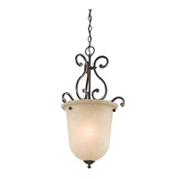 Kichler Lighting Builder Camerena 1 Light Foyer Chain Hung in Olde Bronze 43228OZ photo thumbnail
