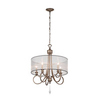 Kichler Lighting Malina 5 Light Chandelier in Brushed Silver and Gold 43244BRSG photo thumbnail