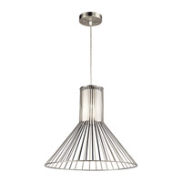Kichler Boite 1 Light Pendant in Brushed Nickel 43245NI