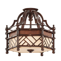 Kichler Lighting Rum Cove 3 Light Convertible Pendant in Cayman Bronze 43250CYZ