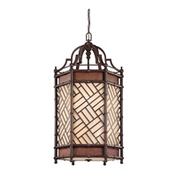 Kichler Lighting Rum Cove 6 Light Chandelier in Cayman Bronze 43253CYZ photo thumbnail
