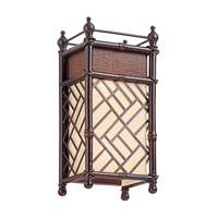 Kichler Lighting Rum Cove 2 Light Wall Sconce in Cayman Bronze 43254CYZ photo thumbnail