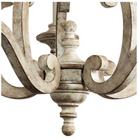 Kichler 43256DAW Hayman Bay 5 Light 28 inch Distressed Antique White Chandelier Ceiling Light  alternative photo thumbnail