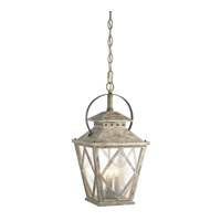 Kichler 43259DAW Hayman Bay 4 Light 15 inch Distressed Antique White Indoor Lantern Pendants Ceiling Light