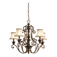Kichler Lighting Mithras 5 Light Chandelier in Terrene Bronze (Shades Sold Separately) 43279TRZ photo thumbnail