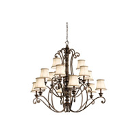 Kichler 43281TRZ Mithras 15 Light 42 inch Terrene Bronze Chandelier Ceiling Light photo thumbnail