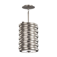 Kichler Roswell 1 Light Foyer Pendant in Brushed Nickel 43302NI
