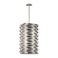 Kichler Roswell 6 Light Foyer Pendant in Brushed Nickel 43306NI