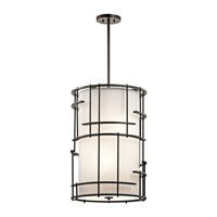 Kichler Tremba 4 Light Foyer Pendant in Olde Bronze 43369OZ