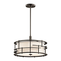 Kichler 43373OZ Tremba 4 Light 20 inch Olde Bronze Pendant/Semi Flush Ceiling Light
