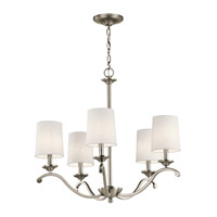 Versailles 5 Light 26 inch Antique Pewter Chandelier Ceiling Light, Medium
