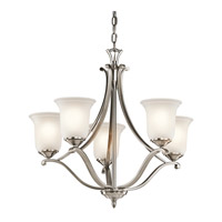 Kichler Lighting Wellington Square 5 Light Chandelier in Classic Pewter 43401CLP