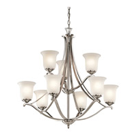 Kichler Lighting Wellington Square Chandelier in Classic Pewter 43402CLP photo thumbnail
