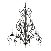 Kichler Marcele 9 Light Chandelier 2 Tier Large in Olde Bronze 43449OZ