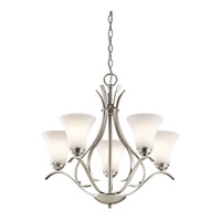 Keiran LED 25 inch Brushed Nickel Chandelier Ceiling Light, Medium