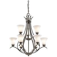 Kichler 43506OZL18 Keiran LED 29 inch Olde Bronze Chandelier Ceiling Light