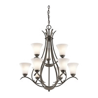 Keiran LED 29 inch Olde Bronze Chandelier Ceiling Light