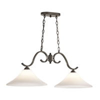 Kichler Keiran 2 Light Island Light in Olde Bronze 43508OZ