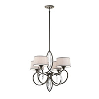 Kichler 43565OZ Casilda 4 Light 29 inch Olde Bronze Chandelier 1 Tier Large Ceiling Light