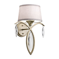 Kichler Casilda 1 Light Wall Bracket in Sterling Gold 43570SGD