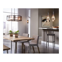 Kichler 42475nimer Everly 1 Light 11 Inch Brushed Nickel Pendant Ceiling In Mercury Gl Alternative
