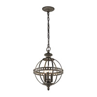 Kichler Halleron 3 Light Pendant in Olde Bronze 43612OZ