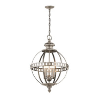 Halleron 5 Light 20 inch Classic Pewter Pendant Ceiling Light