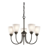 Kichler 43638OZL16 Jolie LED 22 inch Olde Bronze Chandelier Ceiling Light, Medium
