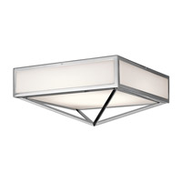 Kichler Savoca 1 Light Flush Mount in Chrome 43649CHLED