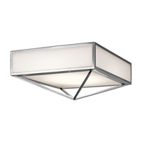 Kichler Savoca 1 Light Flush Mount in Chrome 43650CHLED