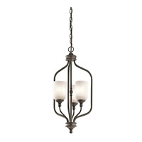 Kichler 43656OZ Lilah 3 Light 14 inch Olde Bronze Foyer Pendant Ceiling Light