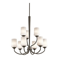 Kichler 43666OZL16 Aubrey LED 29 inch Olde Bronze Chandelier Ceiling Light, Large