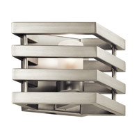 Kichler 43689NI Realta 1 Light 10 inch Brushed Nickel Wall Bracket Wall Light